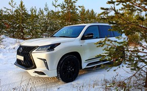 Picture forest, tuning, kit, Lexus LX570, Lexus LX 570