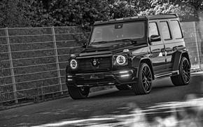 Picture the fence, Mercedes-Benz, SUV, G-Class, Lumma Design, 2019, CLR G770