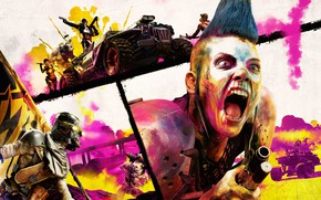 Picture Bethesda Softworks, Rage, Avalanche Studios, id Software, Rage 2