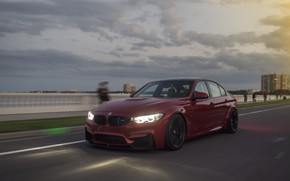 Picture BMW, Light, RED, Dynamic, LED, Ride, F81
