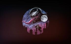 Picture Minimalism, Language, Teeth, Marvel, Venom, Venom, Symbiote, Creatures, by Vincenttrinidad, Vincenttrinidad, by Vincent Trinidad, Vincent …
