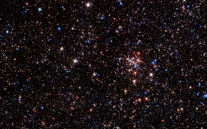 Picture Stars, Milky Way, Chili, THAT, Star Cluster, Near-infrared, Paranal, VLT UT4, Wide-Field Imager, HAWK-I, Nasmyth …