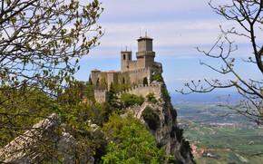Picture Rocks, Castle, Landscape, San Marino