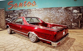 Picture Chevrolet, Lowrider, Pickup, The Way, Modified