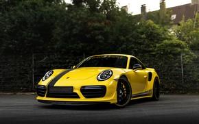 Picture yellow, coupe, 911, Porsche, 991, Manhart, 911 Turbo S, 2020, 991.2, битурбонаддув, 850 л.с., TR …