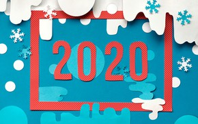 Picture snowflakes, background, new year, vector, frame, 2020