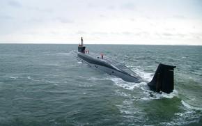 Picture submarine, underwater, cruiser, atomic, Boreas, Dmitry Dolgoruky