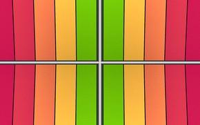 Picture strip, colored, gradient