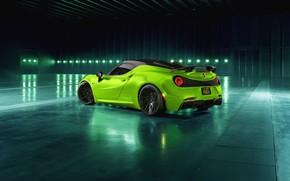 Picture rear view, 2018, Green Arrow, Centurion, Alfa Romeo 4C, Pogea Racing