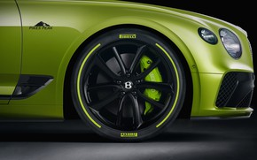Picture Bentley, wheel, Continental GT, Limited Edition, Pikes Peak, 2020