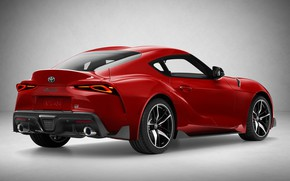 Picture Toyota, Supra, 2019, Toyota GR Above, GR Above