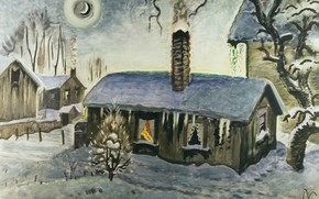Picture Charles Ephraim Burchfield, Peace at Christmas, 1917-47