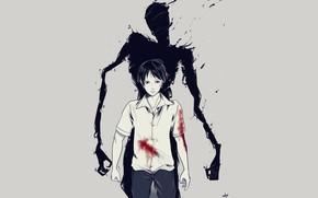 Picture anime, art, guy, Ajin: Demi-Human, Adzhin