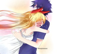 Picture art, pair, two, Nisekoi, Feigned love