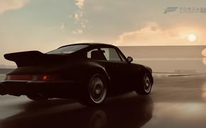 Picture HDR, 911, Porsche, Sun, Rain, Turbo, Game, Porsche 911 Turbo, FM7, UHD, Forza Motorsport 7, …