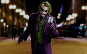 Picture Look, Map, Knife, Joker, Costume, The dark knight, Batman, Joker, Heath Ledger, Heath Ledger, Concept …