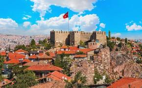 Picture turkey, capital, ankara, Ankara Castle