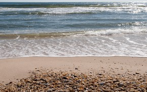 Picture sand, sea, wave, beach, summer, shore, summer, beach, sea, blue, seascape, sand, wave