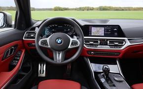 Picture BMW, salon, 3-series, universal, 3P, 2020, 2019, G21, M340i xDrive Touring