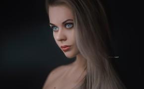 Picture look, girl, hair, Portrait, Alexander Drobkov-Light, Carina Carina