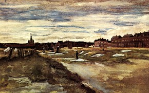 Picture Vincent van Gogh, Watercolors, Bleaching Ground