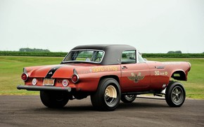 Picture Ford, Race, Ass, Custom, Thunderbird, Modified, Ford Thunderbird