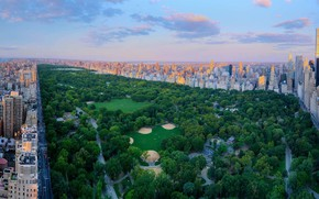 Picture New York, panorama, USA, Central Park