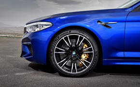 Picture wheel, BMW, sedan, the front part, BMW M5, 2017, M5, F90