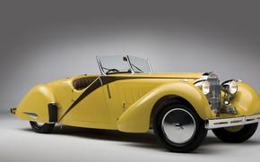 Picture retro, Bugatti, convertible