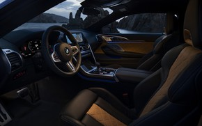 Picture coupe, BMW, salon, 2019, BMW M8, M8, M8 Competition Coupe, M8 Coupe, F92