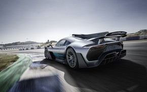 Picture machine, Mercedes-Benz, lights, hypercar, Speedway, Mercedes-AMG, Project ONE