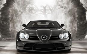 Picture coupe, Mercedes-Benz, supercar, Brabus, SLR McLaren