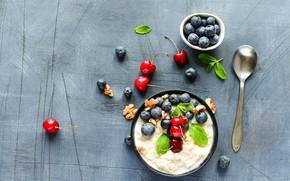 Picture berries, Breakfast, oatmeal