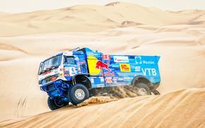 Picture Sand, Auto, Sport, Machine, Truck, Race, Master, Russia, 500, Kamaz, Rally, Dakar, KAMAZ-master, Dakar, Dunes, …