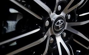 Picture emblem, disk, Toyota, 2018, Avalon