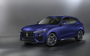 Picture Maserati, crossover, Launch Edition, Trophy, Levante, 2019, Blue Emotion