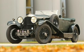 Picture Vintage, Retro, British Car, 1929 Bentley 4 12