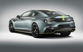 Picture Aston Martin, Rapide, rear view, 2018, AMR