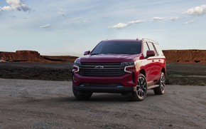 Picture Chevrolet, front, SUV, Tahoe, 2020