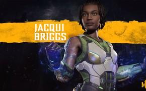 Picture girl, girl, fighter, Mortal Kombat, fight, MK11, NetherRealm Studios, Jacqui Briggs, Mortal Kombat 11, JCI …