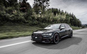 Picture Audi, speed, TDI, ABBOT, universal, Before, 2019, Audi S6