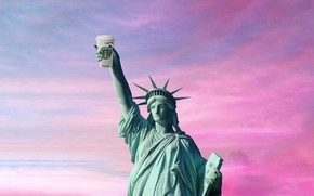 Picture Coffee, Statue, USA, The Statue Of Liberty, United States, New York, NYC, New York City, …