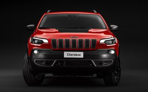 Picture front view, Jeep, Cherokee, Trailhawk, 2019