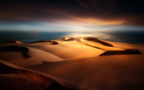 Wallpaper sand, dunes, Spain, The Canary Islands