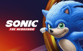 Picture Sonic, movie, poster, Sonic