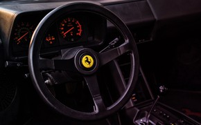 Picture Red, Auto, Machine, Ferrari, Salon, Logo, Ferrari, The wheel, Sports car, 1986, Testarossa, F512 M, …