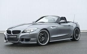 Picture grey, BMW, Roadster, Hamann, 2010, E89, BMW Z4, Z4, next to the wall