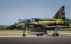 Picture Fighter, Pilot, Chassis, You CAN, Swedish air force, Can 37 Viggen, PTB, Gdynia Aerobaltic 2019