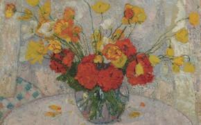 Picture 1917, A Bouquet Of Flowers, Leon De Smet, Leon de Smet