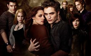Picture family, vampires, Twilight, Bella Swan, The Twilight